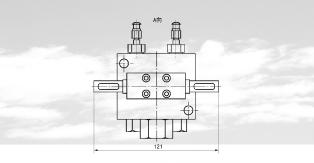 NFQ2型双线油气混合器